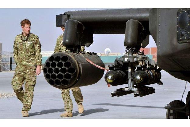 Harry, lors de son arrivée en Afghanistan, le 7 septembre dernier.