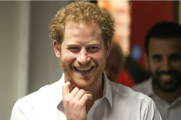 Le prince Harry à Londres, le 6 juin 2016