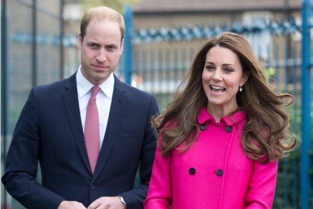Prince William et Kate Middleton, le 27 mars dernier, après la visite du Stephen Lawrence Centre à Londres.