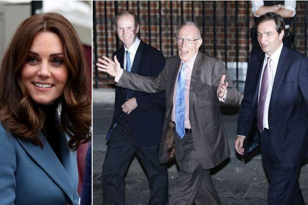 La duchesse Kate, et les médecins qui l'ont accompagnée lors de ses accouchements : Guy Thorpe-Beeston, Sir Marcus Setchell et Alan Farthing