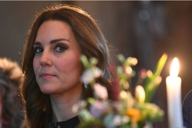 La duchesse de Cambridge, née Kate Middleton, le 20 juillet 2017