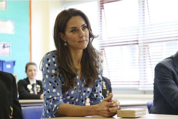 Kate en visite à Harlow, le 16 septembre 2016.