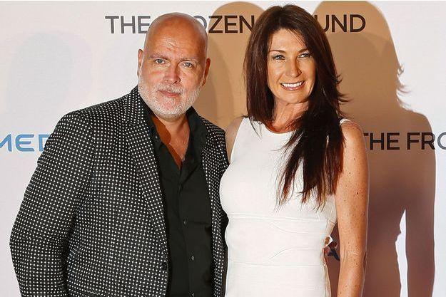 Gary Goldsmith et son épouse Julie-Ann, en 2013.