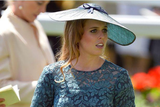 La princesse Beatrice d'York à Ascot, le 17 juin 2014