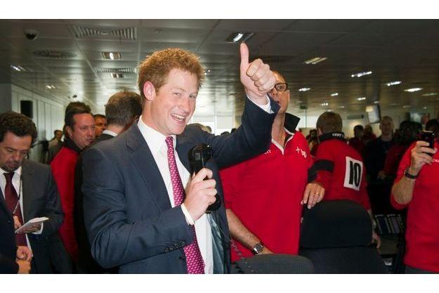 Prince Harry, lors du BGC Charity Day, qui marquait le 10e anniversaire du 11-Septembre.