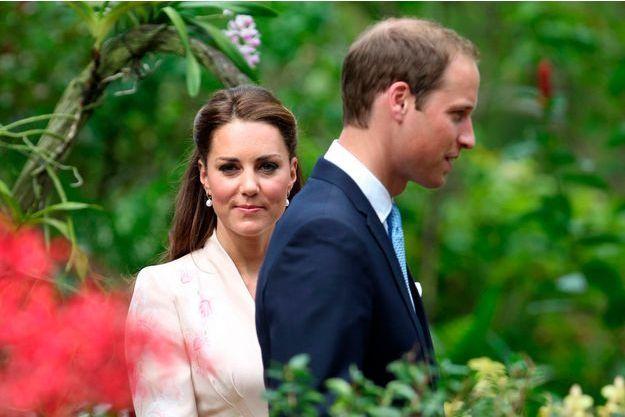 William et Kate, en septembre 2012.
