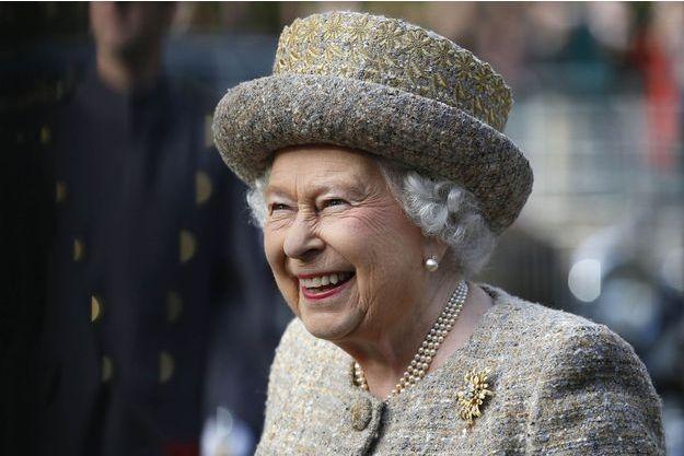 La reine Elizabeth II à Londres, le 6 novembre 2014