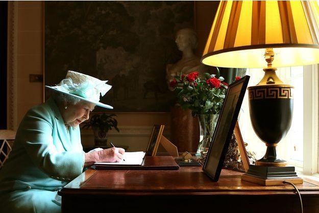 La reine Elizabeth en Irlande du Nord, en juin 2014.