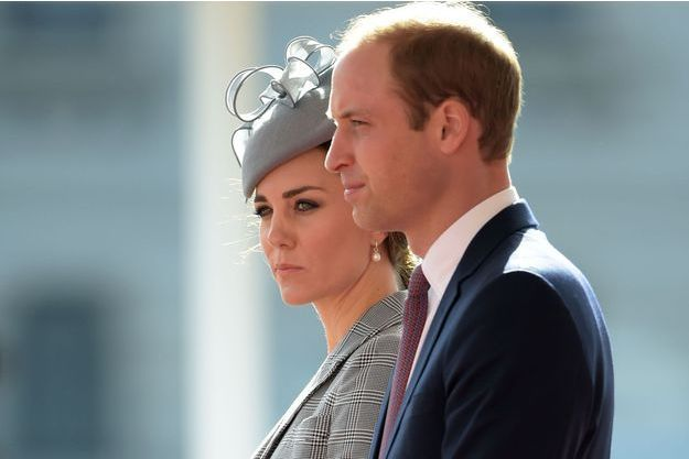 Le prince William et Kate Middleton à Londres le 21 octobre 2014