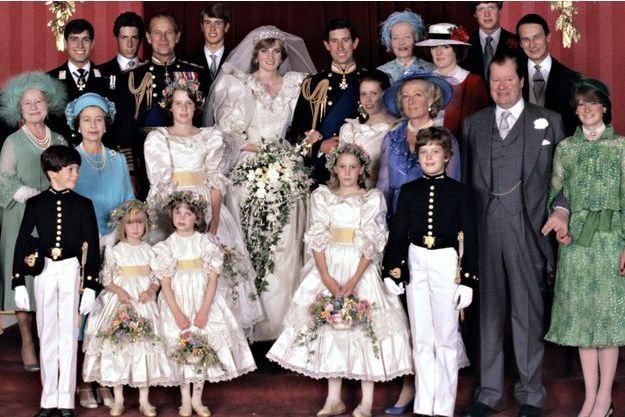 Clementine Hambro était la plus petite des demoiselles d'honneur de Diana Spencer lors de son mariage avec le prince Charles, le 29 juillet 1981.