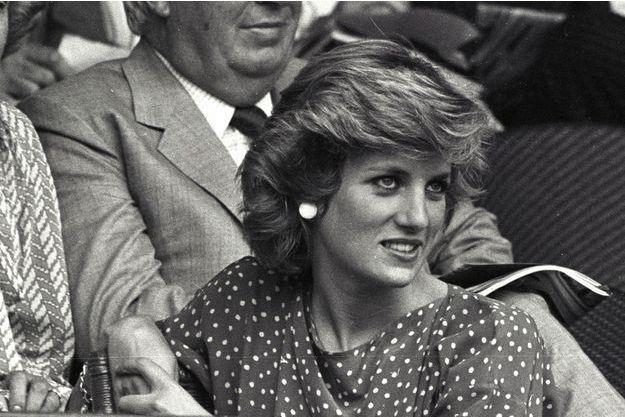 La princesse Diana, en 1985.