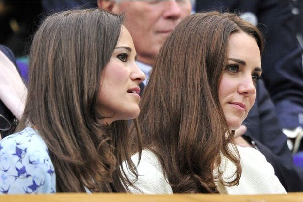 Kate et Pippa Middleton en 2012.