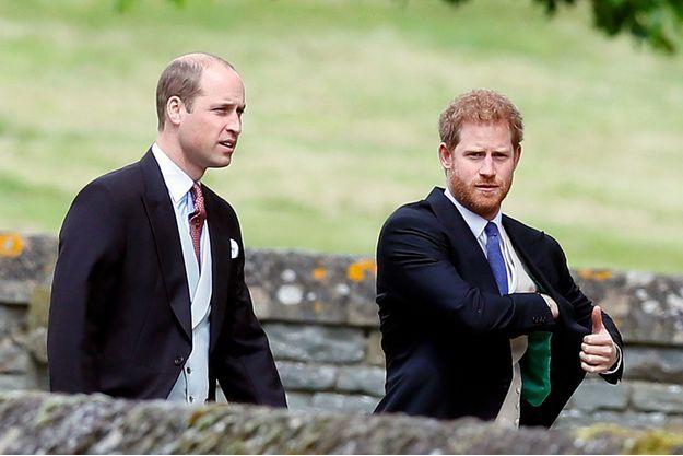 William et Harry en mai 2017.