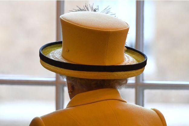 La reine Elizabeth II au Goodenough College de Londres, le 1er décembre 2016.