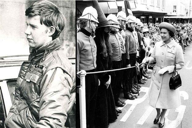 Christopher John Lewis le 14 mai 1987. La reine Elizabeth II en visite à Dunedin, en Nouvelle-Zélande, en octobre 1981.
