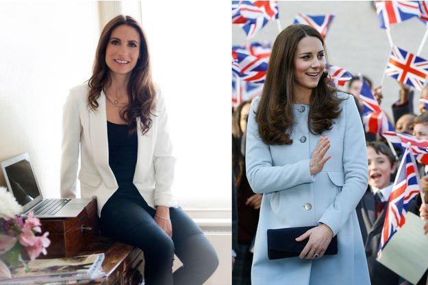 Cécile Reinaud, créatrice de la marque Séraphine - La duchesse de Cambridge en Séraphine le 19 janvier 2015 à Londres