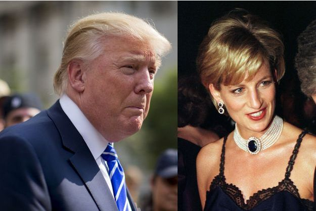 Donald Trump à New York, le 17 août 2015 – Diana Spencer à New York, le 9 décembre 1996