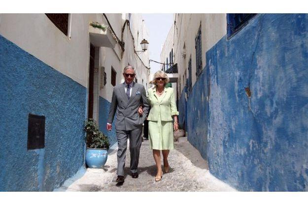 Charles et Camilla à Rabat en 2011