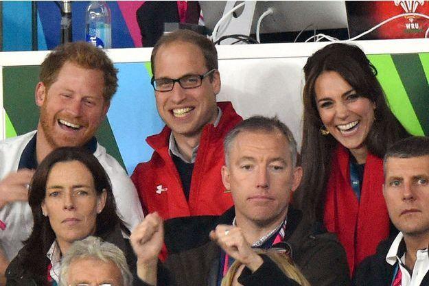 Le prince Harry, William et Kate, duc et duchesse de Cambridge, n'assisteront pas aux JO de Rio