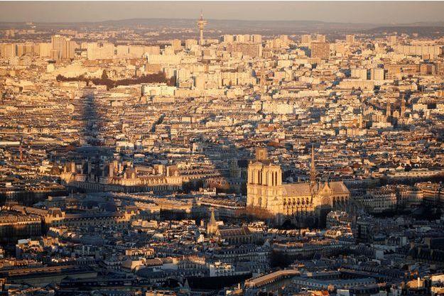 Vue de Paris (image d'illustration).