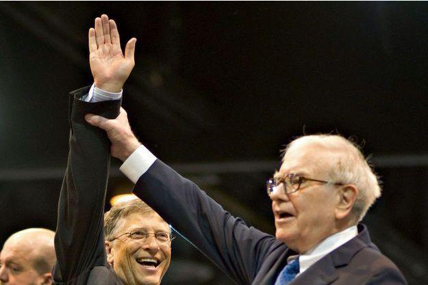 Ce sont les deux plus grands donateurs du monde. En 2010, Bill Gates (à g.) et Warren Buffett ont lancé The Giving Pledge, un mouvement pour encourager les plus fortunés à donner la majeure partie de leur argent à des fins philanthropiques.
