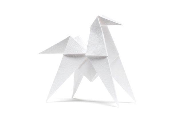Cheval origami, Hermès.