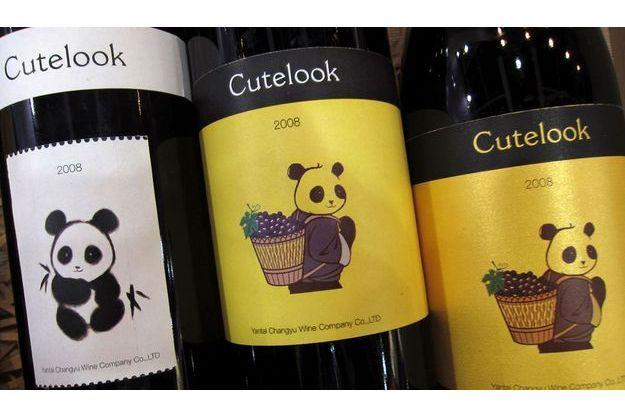 Son étiquette ne laisse planer aucun doute, le vin chinois Cutelook n'est en aucun cas une contrefaçon.