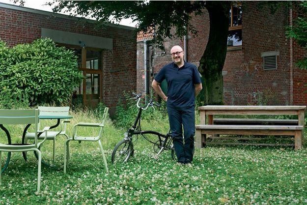 Le verger de l'usine Pocheco. Son patron, qui vit à 18kilomètres, vient au travail à vélo.