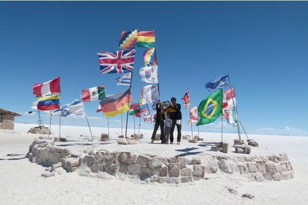 La famille Errard en novembre 2011, en Bolivie.