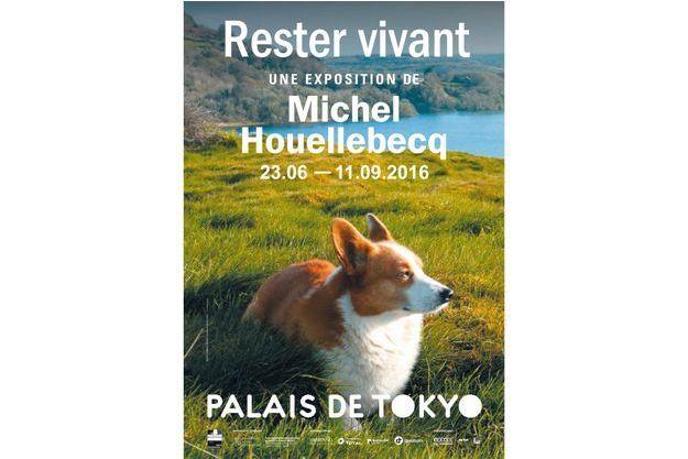 """""""Rester vivant"""", l'exposition des photos de Michel Houellebecq au Palais de Tokyo"""