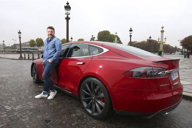 TESLA S P 90D & Bruno Guillon