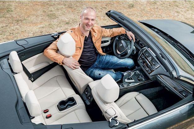 Thierry Omeyer dompte la nouvelle née de chez BMW.