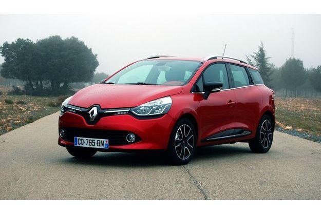 Renault a offert à la Clio Estate une vraie ligne.