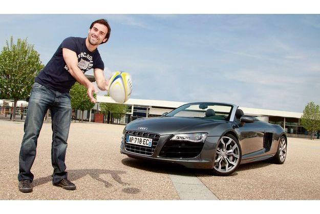 Morgan Parra. Audi R8 Spyder