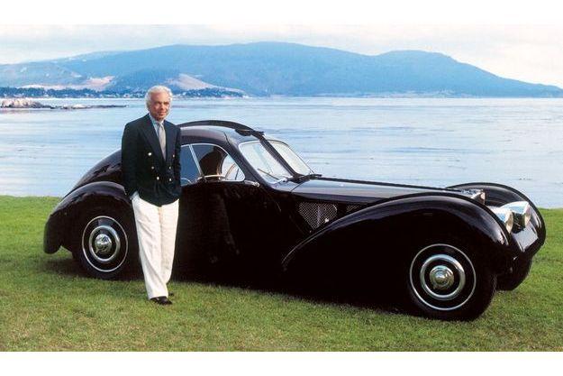 Ralph Lauren et sa Bugatti 57 SC Atlantic