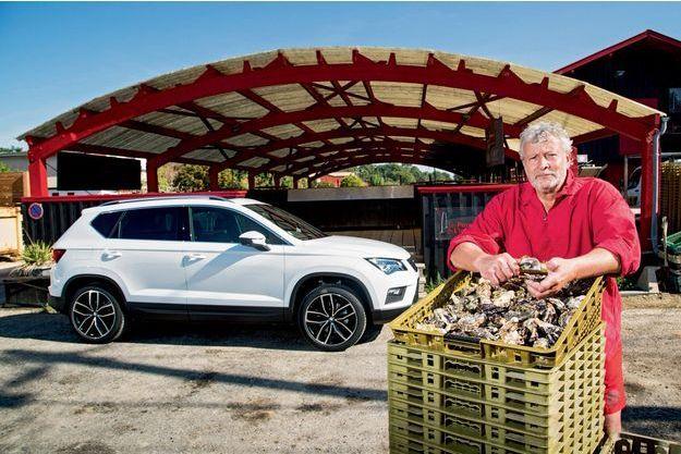 Joël Dupuch et les Parcs de l'Impératrice sont les fournisseurs d'huîtres offi ciels du restaurant La Grande Maison, à Bordeaux, récemment repris par Pierre Gagnaire, le célèbre chef stéphanois.