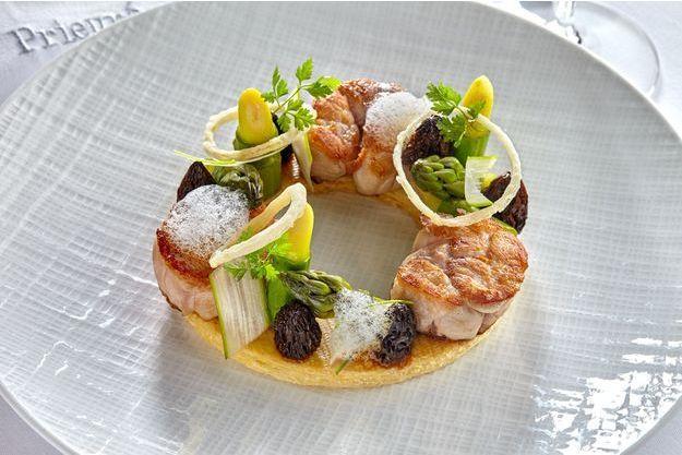 Une assiette étoilée pour célébrer les produits de saison.