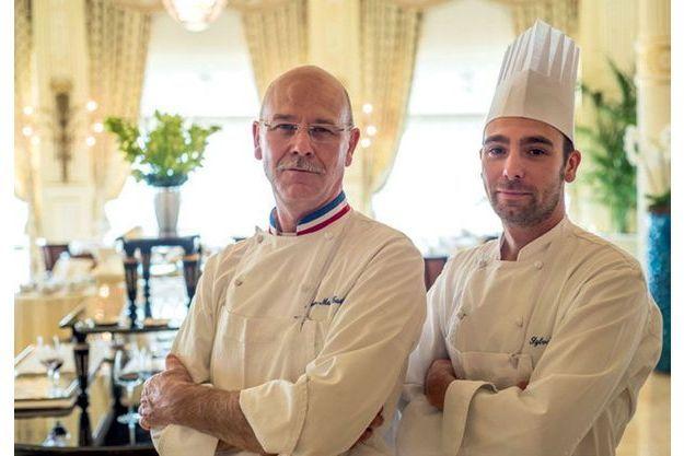 Père et fils : Jean-Marie et Sylvain Gautier.