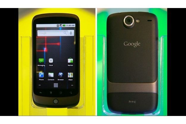Avec son Nexus One, Google espère frapper un grand coup sur le marché de la téléphonie.