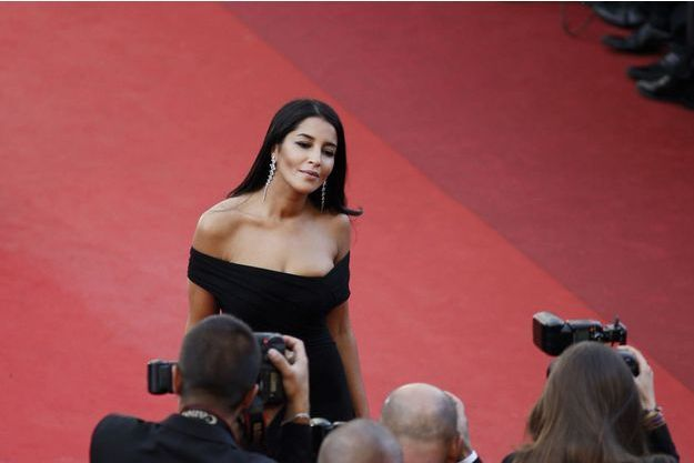Leïla Bekhti, sur le tapis rouge de Cannes, le 11 mai 2016.