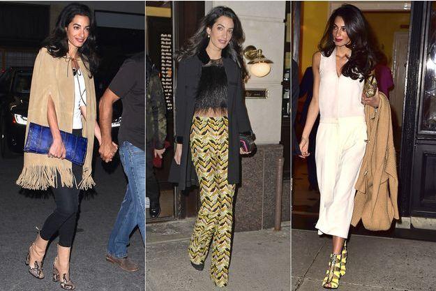 Amal Clooney, une fashionista qui prend des risques.