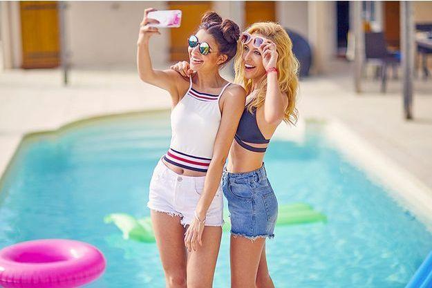 Les YouTubeuses Caroline & Safia,
