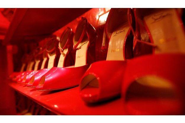 Le modèle imaginé par Christian Louboutin à l'occasion des 50 ans de Barbie en décembre 2009