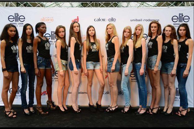12 Finalistes France Elite Model Look 2013
