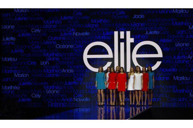 Les finalistes du concours Elite Model Look 2012.