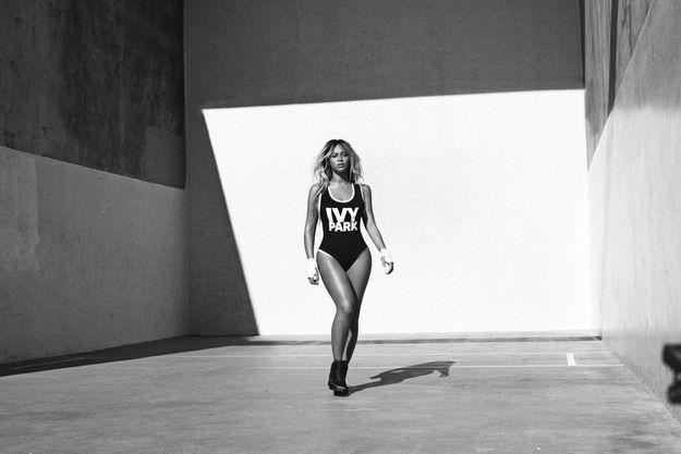 Beyoncé et sa collection Ivy Park, en partenariat avec Topshop.