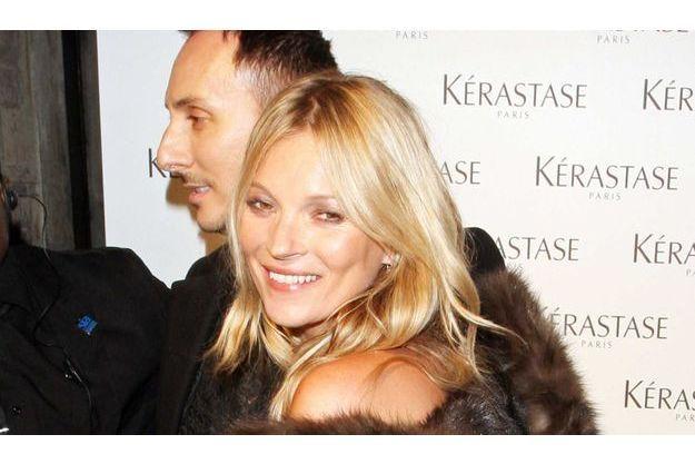 Kate Moss et Luigi Murenu.