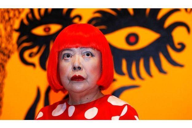 Yayoi Kusama, au musée Tate Modern de Londres, le 7 février dernier