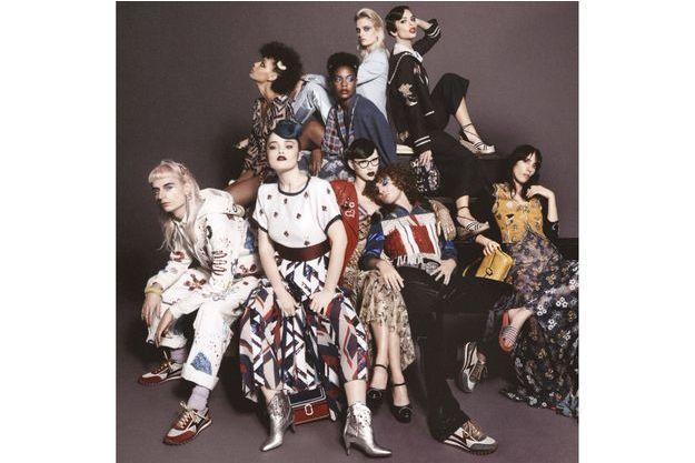 Beth Ditto, Emmanuelle Seigner, Bette Midler, Adriana Lima, la simplicité des personnes, l'excentricité du style pour la nouvelle campagne de Marc Jacobs