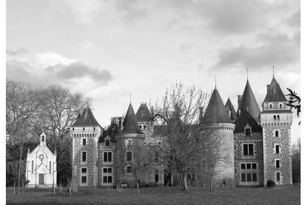 Le château Lancosme.